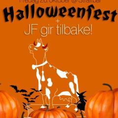 Halloweenfest og JF gir tilbake!